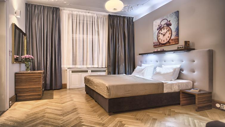 Bed at Residence Brehova Apartments