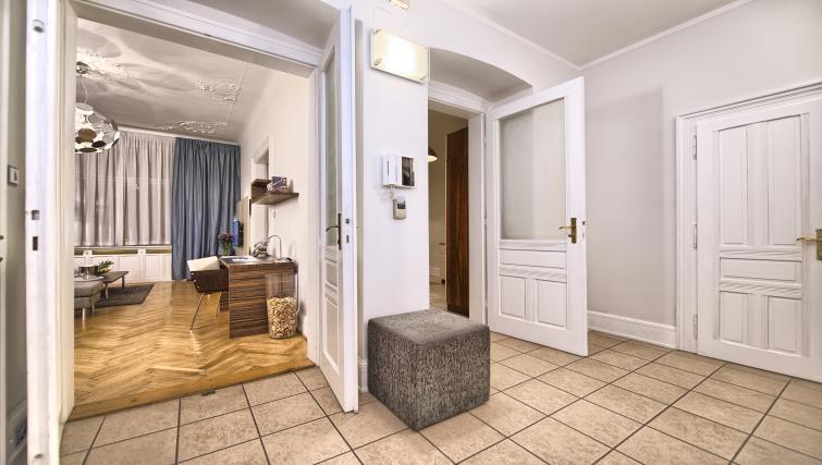 Hall at Residence Brehova Apartments