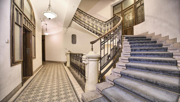 Stairway at Residence Brehova Apartments