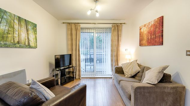Sofas at Royal Sovereign Apartment