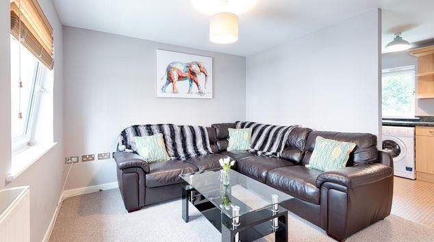 Living room at Copper Quarter, Copper Quarter, Swansea
