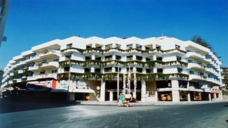 Prime exterior to Atrium Zenon Hotel Apartments