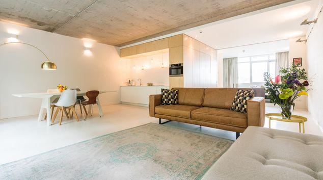 Living room at Design Apartment