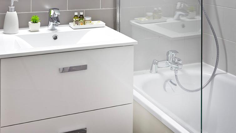 Bathroom at Citadines Presqu'ile Apartments