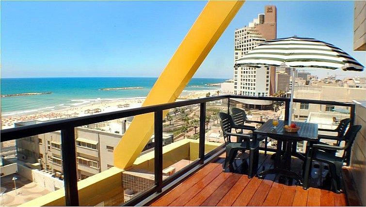 Scenic balcony on Best Western Regency Suites Hotel