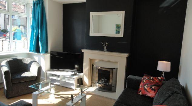 Living room at Filton Avenue House, Filton, Bristol