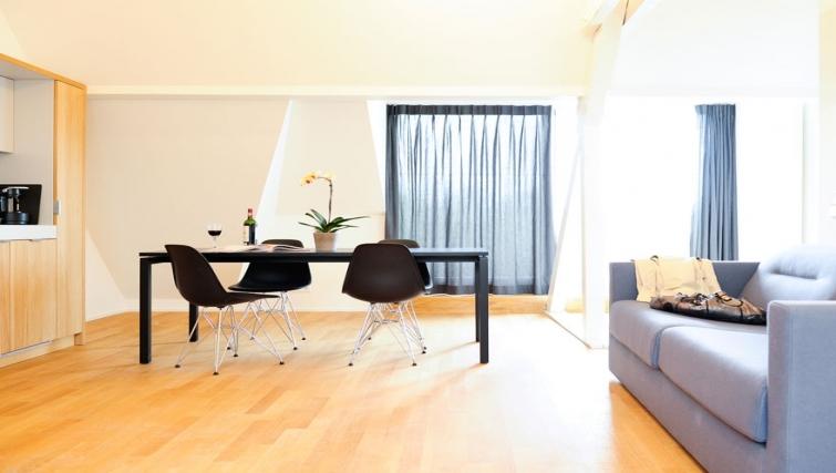 Bright living area in Key Inn Apart-Hotel Parc de Merl