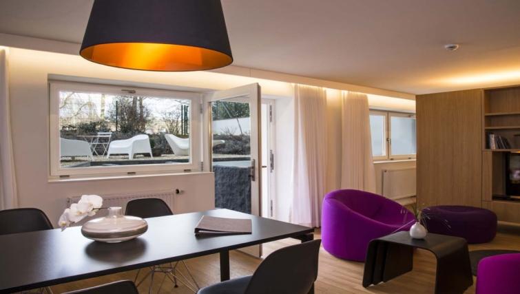 Living area in Key Inn Apart-Hotel Parc de Merl