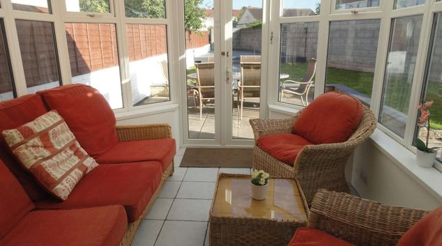 Conservatory seating at Stanley Crescent House, Filton, Bristol