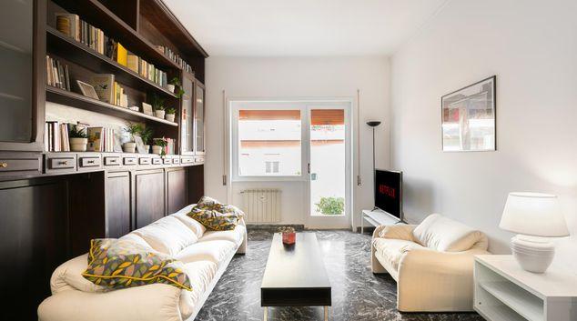 Living room at Sunny Oak Apartment, Quartiere IX Appio Latino, Rome