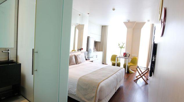 Living space in Novena Studio Apartments, Novena, Singapore