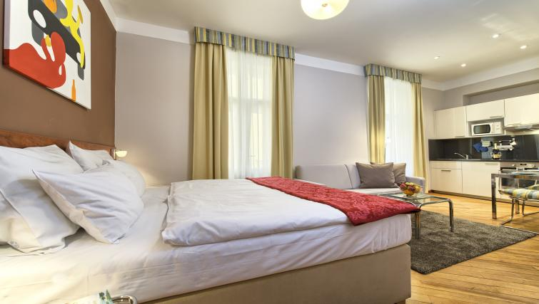 Studio bed at Residence Masna Apartments