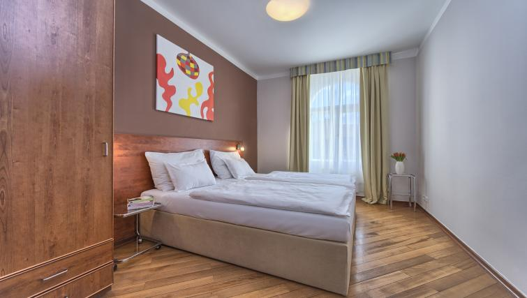 Bedroom at Residence Masna Apartments
