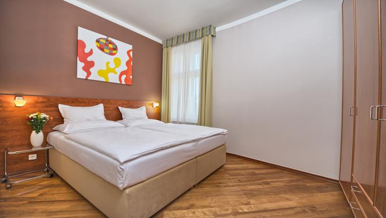Double bedroom at Residence Masna Apartments