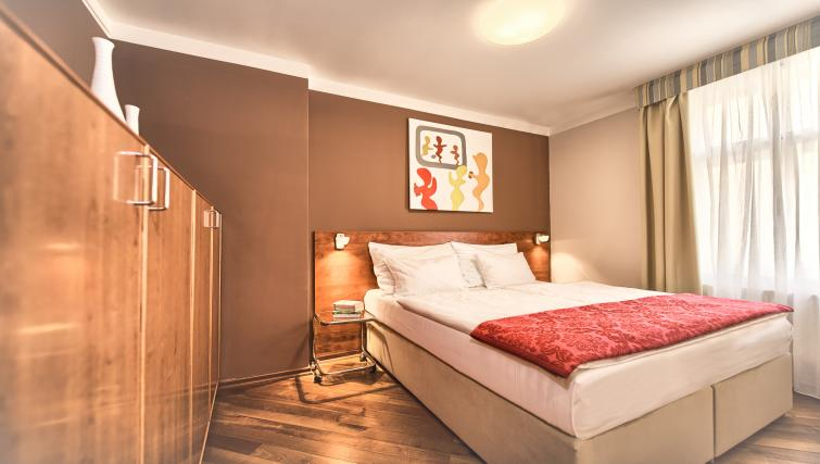 Cosy bedroom at Residence Masna Apartments