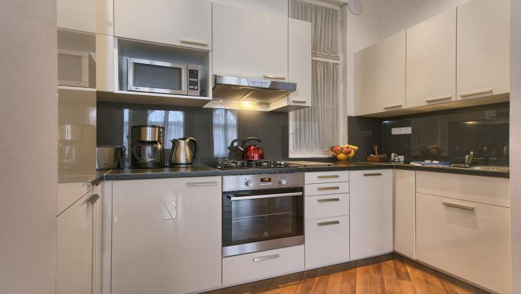 Kitchen at Residence Masna Apartments