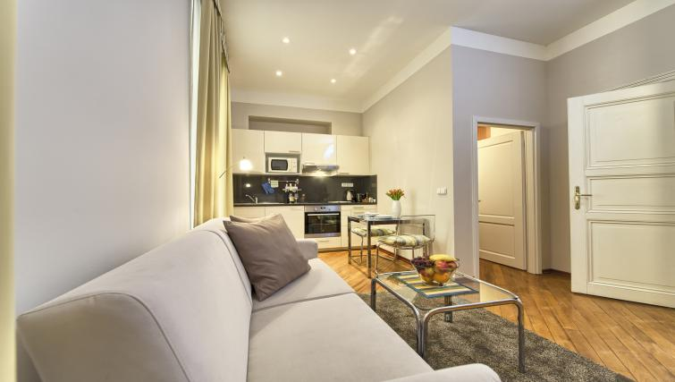 Open plan studio at Residence Masna Apartments