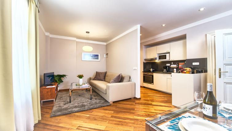 Stylish living area at Residence Masna Apartments