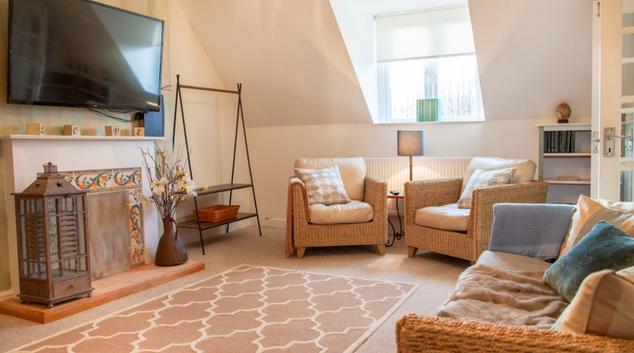 Living area at Bodorgan Manor Apartments, Centre, Bournemouth