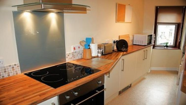 Quality kitchen in King Street Apartment
