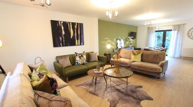 Living room at Cabot Mews, Bishopston, Bristol