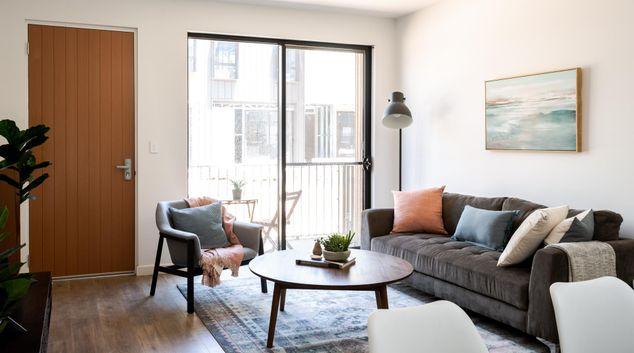 Living area at Urban Rest - Albany Lane, Port Adelaide, Adelaide