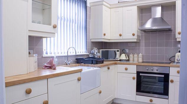 Kitchen at Caerau Heights, Centre, Newport