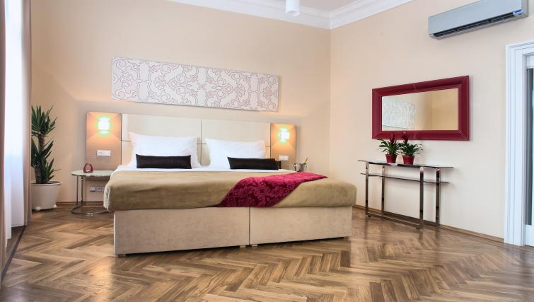 Bedroom at Residence Karolina Apartments