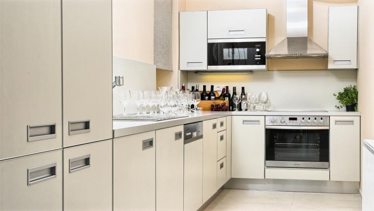Kitchen at Residence Karolina Apartments