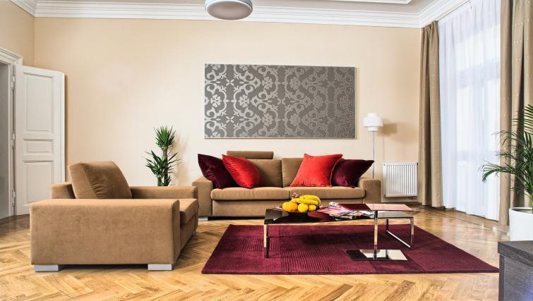 Living area at Residence Karolina Apartments