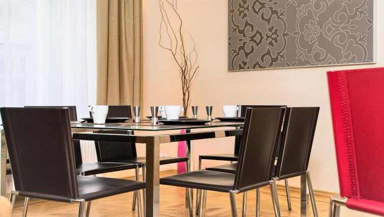 Dining area at Residence Karolina Apartments