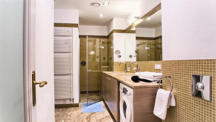 Shower room at Residence Karolina Apartments