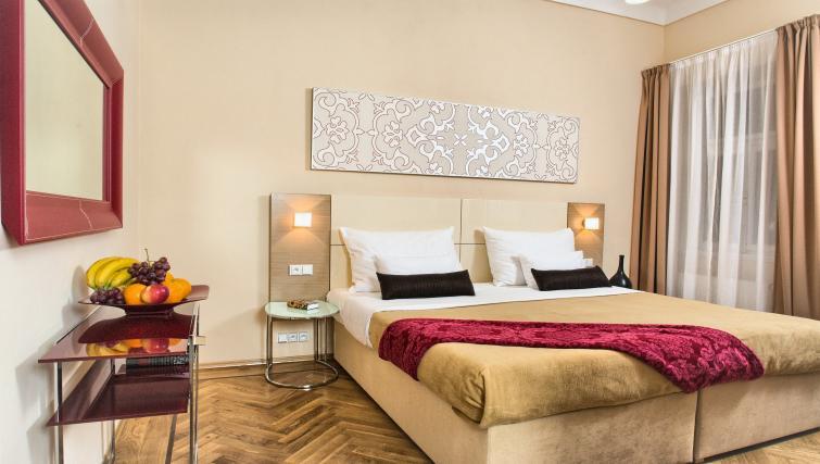 Master bedroom at Residence Karolina Apartments