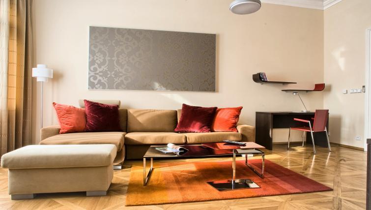 Bright living area at Residence Karolina Apartments
