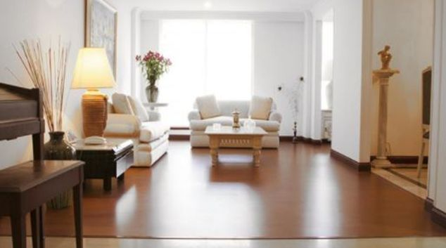 Living area at Lirio Apartment, Usaquen, Bogota
