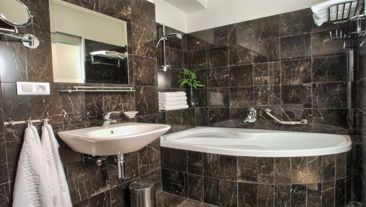 Bath at Residence Rybna Apartments