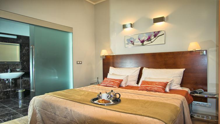 Double bedroom at Residence Rybna Apartments