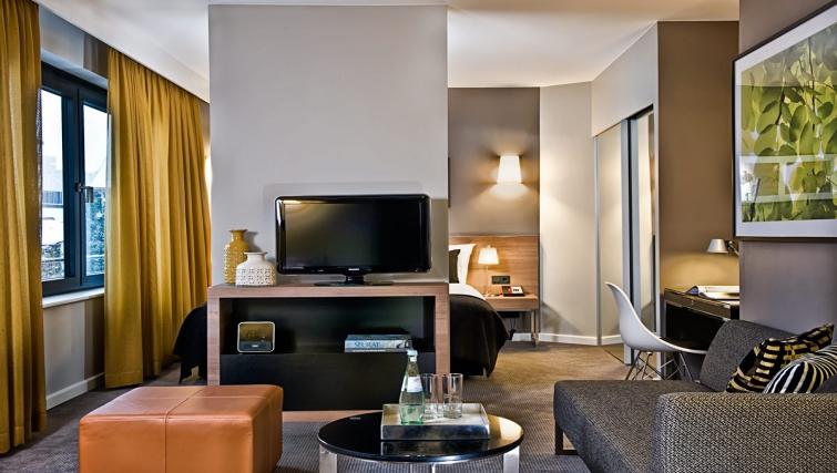 Charming living area at Adina Apartment Hotel Hamburg Michel