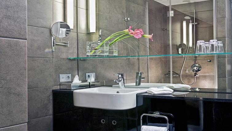 Stunning bathroom at Adina Apartment Hotel Hamburg Michel