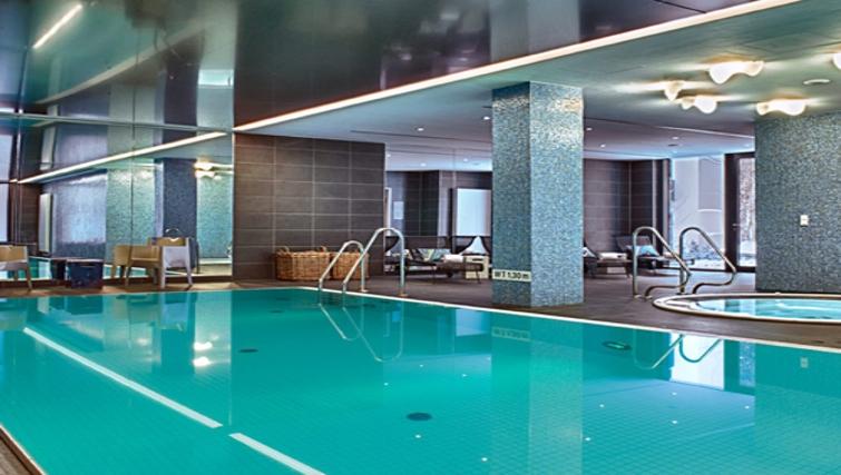 Clean swimming pool at Adina Apartment Hotel Hamburg Michel