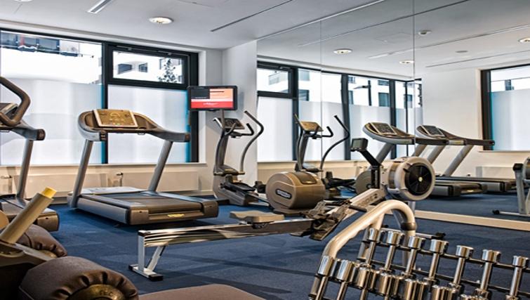 Functional gym at Adina Apartment Hotel Hamburg Michel