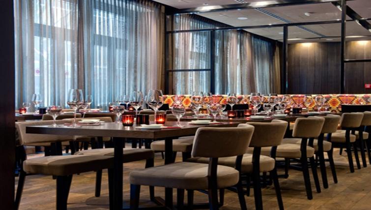 Sophisticated restaurant at Adina Apartment Hotel Hamburg Michel