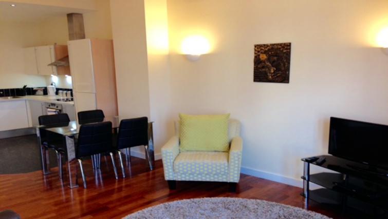 Chair at Centralofts Apartments