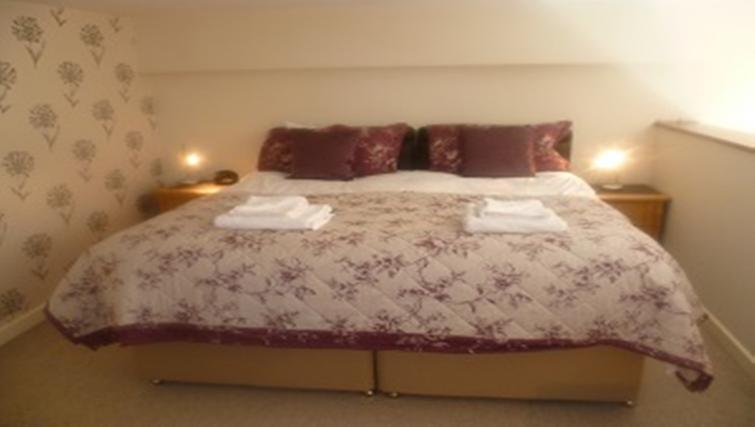 Bedroom at Centralofts Apartments