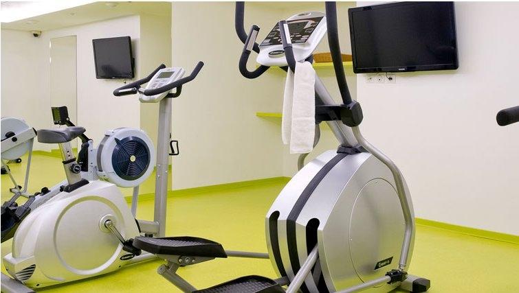 Practical gym in Adagio Paris Vincennes