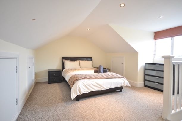 Bedroom at Guards View Apartments