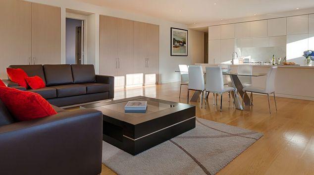 Living room at Caroline Serviced Apartments