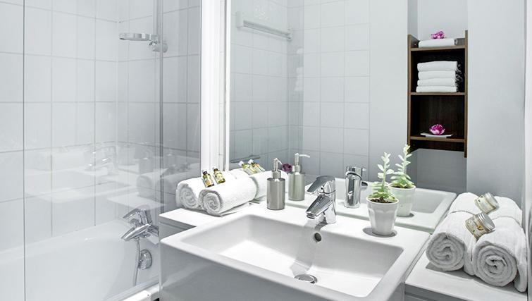 Bathroom in Citadines Lille Centre Apartments