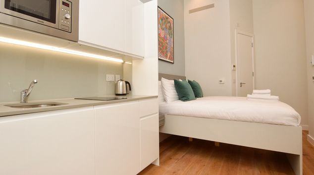 Studio at Cromwell Serviced Apartments, Gloucester Road, London