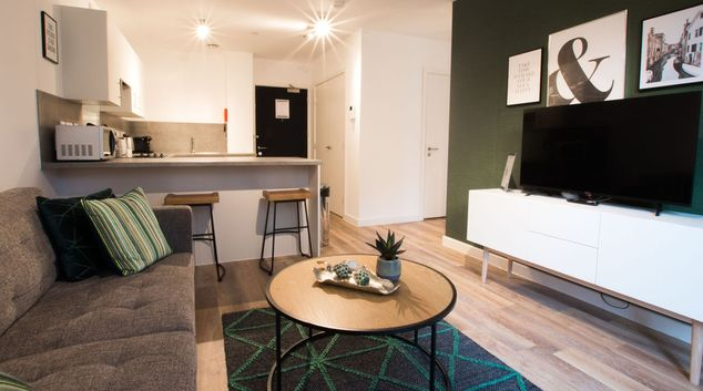 Open plan living at Leicester City By Charles Hope, Centre, Leicester
